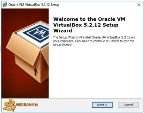 installing virtualbox on windows rdp