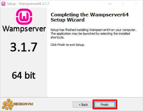 how to run wamp server