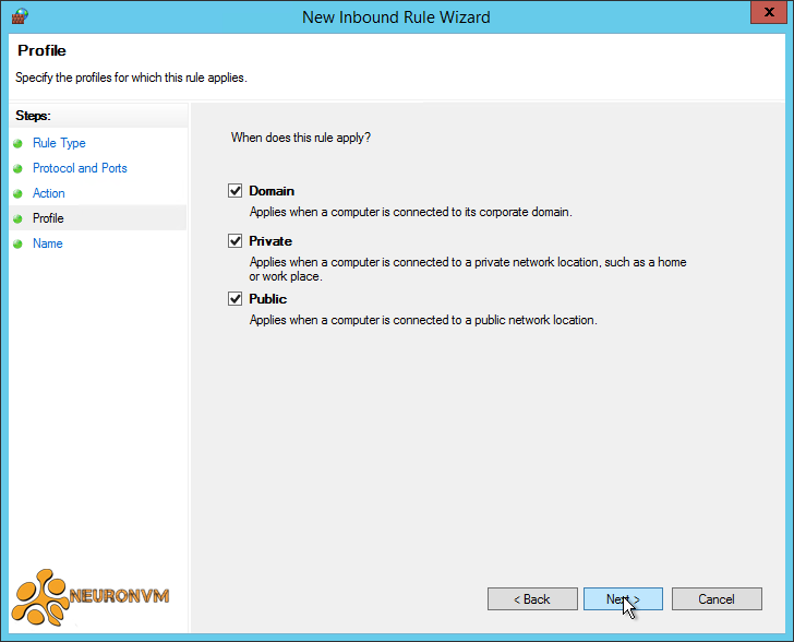 How to setup FTP on RDP 2012