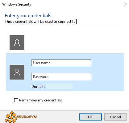 windows security in opening windows server