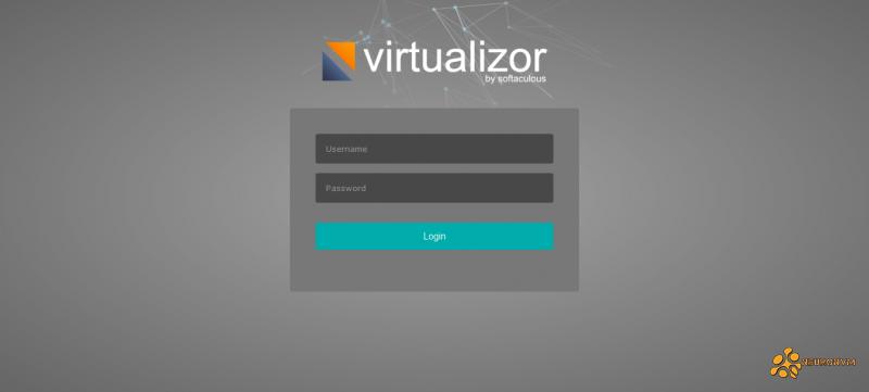log in to virtualizor