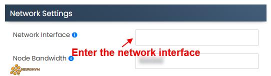 Virtualizor Network in KVM