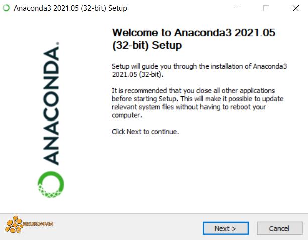 how to install anaconda