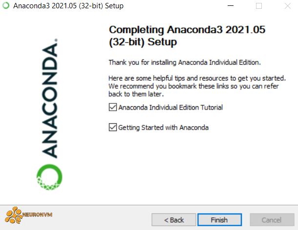 how to install anaconda on rdp 2019