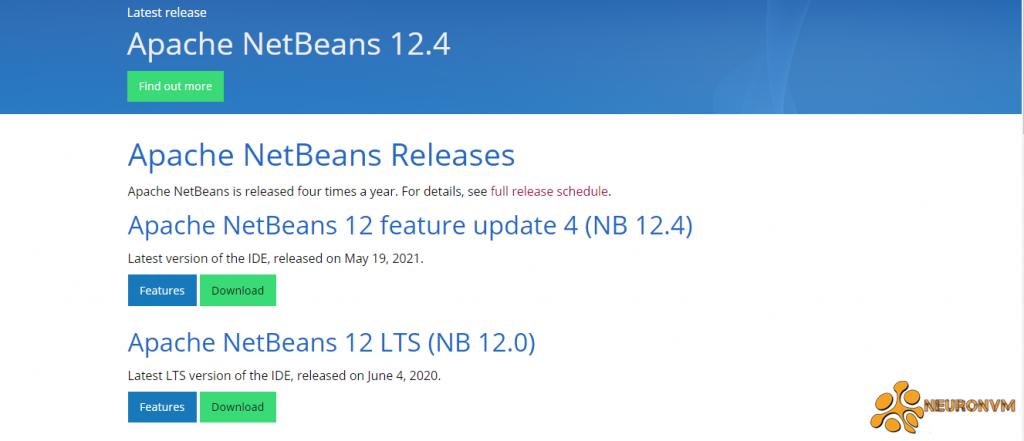 download netbeans on windows server